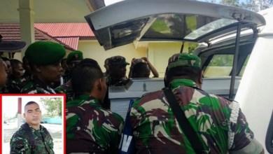Photo of Prajurit TNI Ditembak Separatis OPM Saat Berwudhu untuk Shalat Subuh