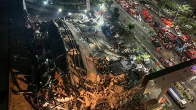 Photo of Hotel Tempat Isolasi Pasien Corona Ambruk, 70 orang Terperangkap