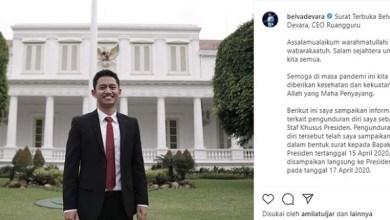 Photo of CEO Ruangguru Mundur dari Jabatan Stafsus Presiden Jokowi
