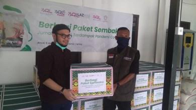 Photo of Terima Paket Sembako dari AQL Network, Ketum Forjim: Jazakumullah Khairan