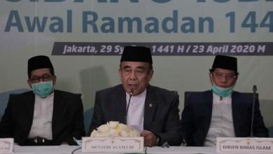 Photo of Pemerintah Tetapkan 1 Ramadhan 1441 H Jatuh pada 24 April 2020