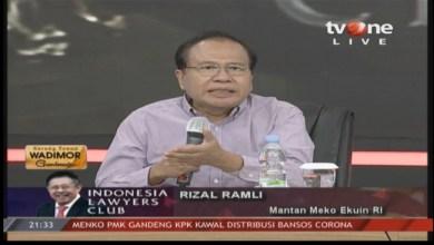 Photo of Rizal Ramli: Jangan Lagi Jadi Antek China