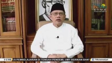 Photo of Ketum Muhammadiyah: Tidak Boleh Lengah Atas Nama Berdamai