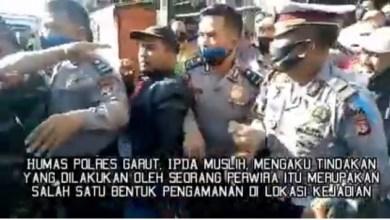 Photo of Viral, Oknum Polisi Ancam Tembak Para Guru di Garut
