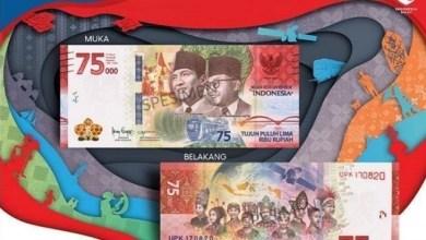 Photo of Pemerintah Resmi Edarkan Uang Pecahan Rp75 Ribu