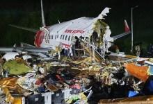 Photo of Tergelincir Saat Mendarat, Pesawat Air India Express Terbelah Dua