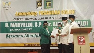 Photo of Pilgub Sumbar, PKS-PPP Usung Mahyeldi-Audy