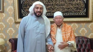 Photo of Kiai Abdul Rasyid Bersyukur Syekh Ali Jaber Selamat dari Pembunuhan