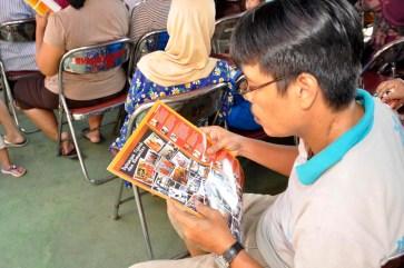 Pelayanan Kesehatan Warga Pegangsaan (foto : Dudi Iskandar)