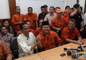 Jokowi dan Hidayat saat di HDC Buncit (1)