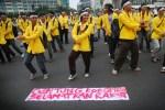 Peringati Hari Anti Korupsi, BEM UI Gelar 'Flash Mob' di Bunderan HI