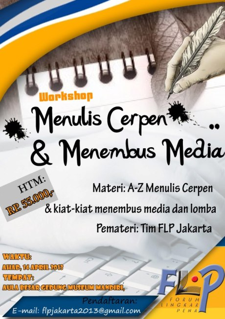 suara-jakarta-Workshop-Menulis-Cerpen-Menembus-Media
