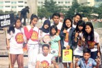 Seluruh elemen masyarakat dari berbagai umur turun serta dalam Gerakan Anti Miras (GENAM). (Foto: Ujang Komar)