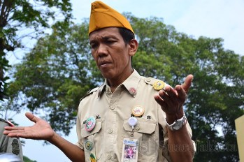 Peringatan Hari Pahlawan 10 November di Taman Makan Pahlawan di Tangerang Selatan. (Foto: Fajrul Islam/SuaraJakarta)