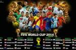 Jadwal Lengkap Pertandingan Piala Dunia Brasil 2014