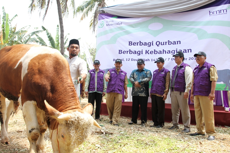 suara jakarta Qurban 2014 BMM bank muamalat