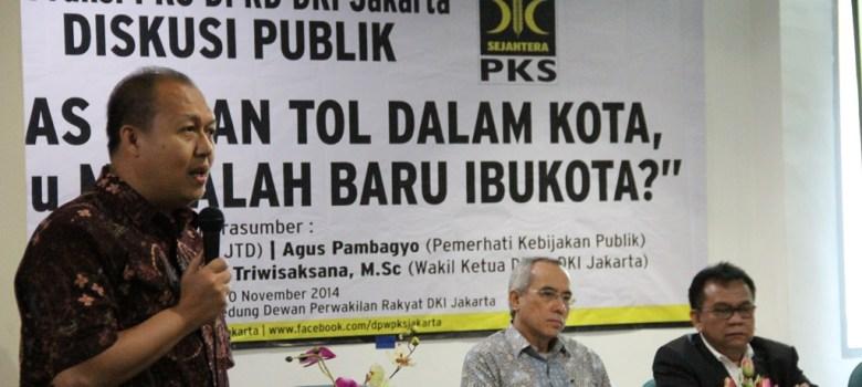 SuaraJakarta.co --- Selamat Nurdin, PKS Jakarta, Fraksi PKS Jakarta