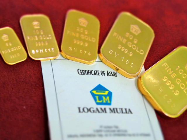 suara jakarta PT ANTAM emas loga mulia brankas