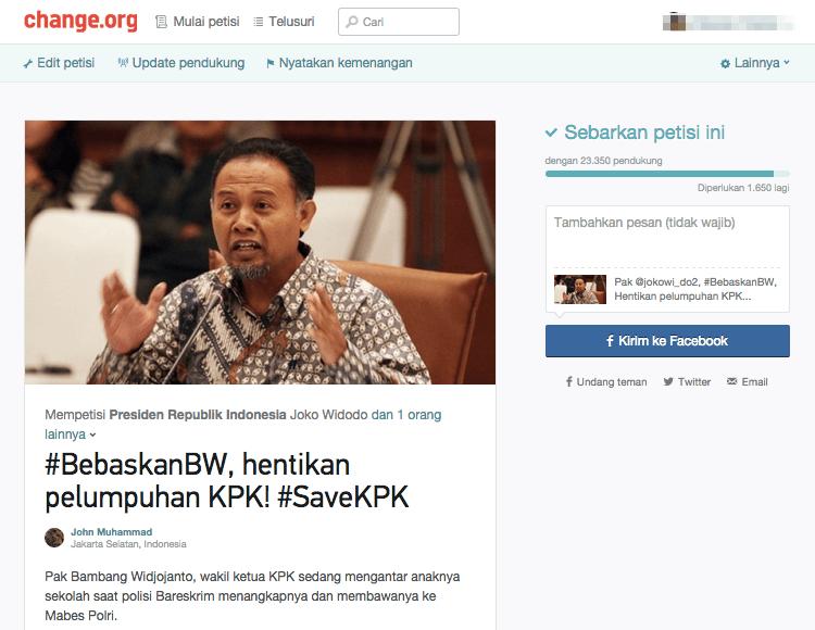 suara jakarta KPK bambang wijayanto