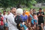 Trauma Healing Korban Banjir Bandang di Lombok Utara