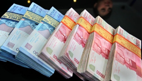 suara jakarta rupiah uang resesi ekonomi