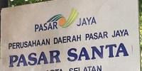 Ribuan Warga Jakarta, Bela Pedagang Kecil Pasar Santa