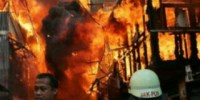 Jati Bunder, Kebon Melati Tanah Abang Kebakaran!