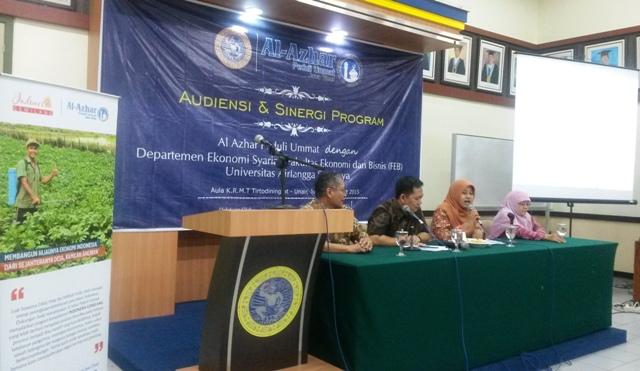 Sinergi APU, PKES , UNAIR Kuatkan Perekonomi Syariah di Pedesaan