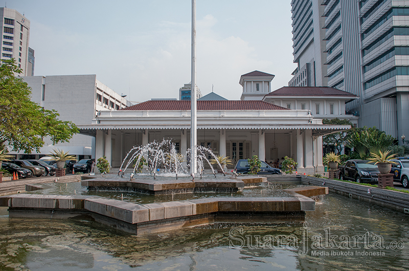 Gedung Balaikota Jakarta. (Foto: Fajrul Islam/SuaraJakarta)