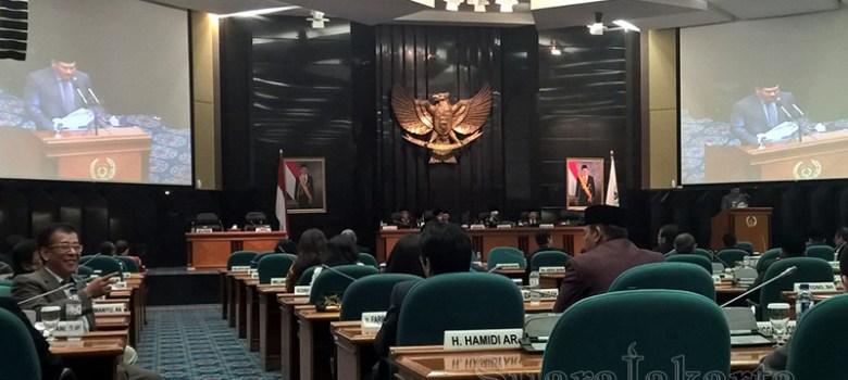 Ruang Sidang DPRD DKI. (Foto: Ardy P Sani/SuaraJakarta)