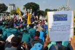 21 Mei, Ribuan Mahasiswa Kembali Demo di Depan Istana Negara