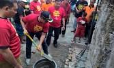 Dewan Kota bersama Wakil Walikota Jakpus Canangkan Gerakan Kerja Bakti Hebat