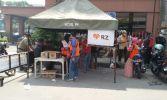 Relawan RZ Semarang Bantu Evakuasi Kebakaran Pasar Johar