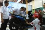 Ribuan Siswa SMK se-Indonesia Ikuti Uji Kompetensi Teknik Sepeda Motor Honda