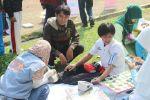Pelajar Bogor Ramaikan CFD dengan Layanan Kesehatan Gratis