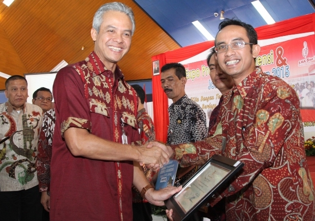 Gubernur Jateng Apresiasi Komitmen AHM dalam Pengembangan SMK