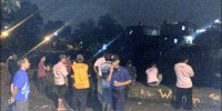 Ada Korban Tenggelam Sungai Ciliwung di Rawajati Malam Ini