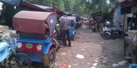 Hujan Deras, Pasar Nangka Kian Kumuh