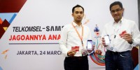 Telkomsel dan Samsung Kolaborasi Hadirkan Bundling Samsung Galaxy Harga 1 Jutaan
