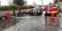 Camat Kemayoran Blusukan Selesaikan Persoalan Banjir