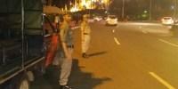 Satpol PP Tangkap Pedagang Kopi Bersepeda di Bundaran HI Malam-Malam