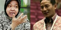 Risma-Sandi Diusung Koalisi Besar PKS-Gerindra-PDIP?