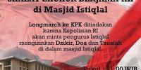 Kepolisian RI Minta Umat Islam Diperbolehkan Selenggarakan Acara di Masjid Istiqlal Siang Ini