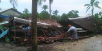 Puluhan Rumah Di Pulau Tidung Rusak Parah Diterjang Angin Puting Beliung, Pemerintah Belum Berikan Bantuan