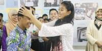 Olivia Zalianty Berbagi Inspirasi Kepada Siswa SMART Ekselensia Indonesia Dompet Dhuafa