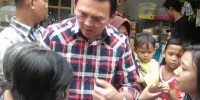Ahok Berjanji Akan Membangun Kembali Pasar Serdang
