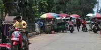 PKL Sayuran dan Buah Jalan Kalibaru Timur Raya Menjamur Lagi