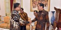 Ketemu Jokowi, Anies-Sandi Bahas Pembangunan Infrastruktur di DKI