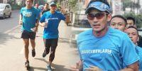 Sandiaga: Seminggu Sekali Saya Lari ke Balai Kota, Cek Trotoar Persiapan Asian Games