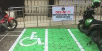 Kantor Kelurahan Rawajati Dipasang Drop Off Ojol, PPSU: Baru Ada di Era Anies